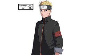 Picture white background, Naruto, Naruto, Uzumaki Naruto