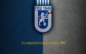 Picture wallpaper, sport, logo, football, CS Universitatea Craiova