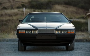 Picture Lights, Front view, Aston Martin Lagonda