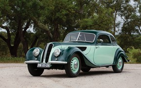 Picture old, retro, BMW, 327, 1938-41