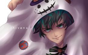 Picture art, Halloween, Boku no Hero Academy, My Hero Academia, Midori Isuku, My Hero Academy