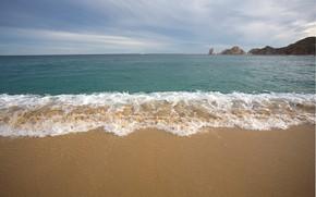 Picture sand, sea, wave, beach, summer, shore, summer, beach, sea, blue, seascape, sand, wave