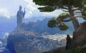 Picture figure, art, game, painting, Ubisoft, Assassin's Creed, 2018, Odyssey, Assassin's Creed Odyssey