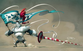 Picture background, armor, helmet, knight, spear