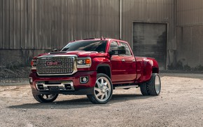 Picture design, car, the front, GMC, 3500 6