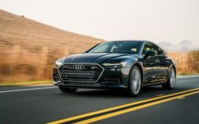 Picture Audi, track, 2019, A7 Sportback