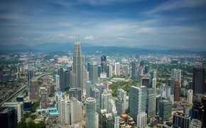 Picture the city, building, day, Malaysia, Kuala Lumpur