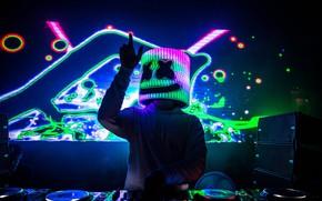 Picture DJ, EDM, Marshmello, DJ