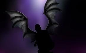 Picture men, vampire, rendering, darknes