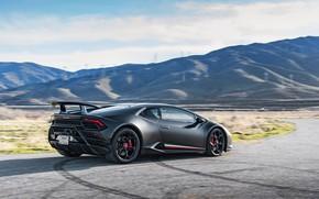 Picture speed, Lamborghini, Performante, Huracan, 2020, VF Engineering