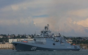 Picture frigate, the project 11356, Admiral Makarov