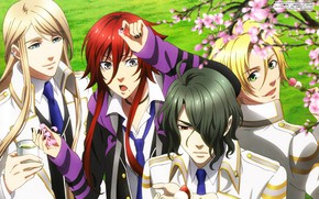 Picture anime, art, guys, Kamigami no Asobi, Game of the gods