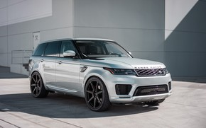 Picture Land Rover, Range Rover, Sport, Silver, Backgraund