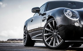 Picture coupe, wheel, body, 2018, Jaguar XKR, V8, Speedback, two-door, David Brown Automotive, Silverstone Edition