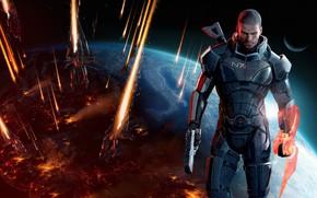 Picture Mass Effect, Mass Effect 3, Shepard