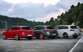 Picture Parking, Seat, 2015, Leon Cupra ST, station wagons