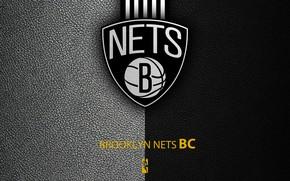 Picture wallpaper, sport, logo, basketball, NBA, Brooklyn Nets