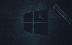 Picture pirate, windows, dark, windows 10