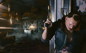 Picture city, game, rpg, gaming, shooter, action, video game, Cyberpunk 2077, PS4, Xbox one, sci fi, ...