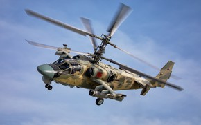 "Wallpaper Ka-52, ""Alligator"", Videoconferencing Russia"