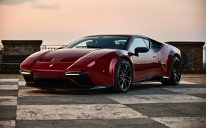 Picture the sky, coupe, the evening, V10, De Tomaso Pantera, Hurricane, Lamborghini Huracan, 2020, two-door, Project1, …