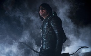 Picture Green Arrow, Arrow, Stephen Amell, Oliver Queen, The CW