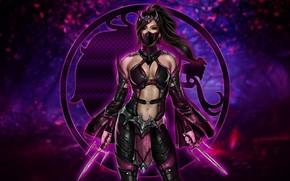 Picture Megan Fox, Megan Fox, Logo, Art, Art, Logo, Fiction, Mortal Kombat, Character, Sai, Milina, Character, …