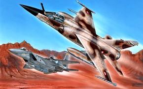 Picture France, USA, F-15, Mirage F1, NATO-I TAKE