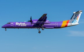 Picture Bombardier, FlyBE, DHC-8-Q400