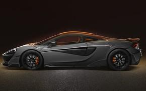 Picture McLaren, supercar, side view, 2019, 600LT