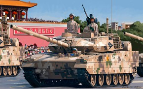 Picture easy, tank, China, PLA, Carlos Chagas, Type 15, PLA ZTQ15 Light Tank