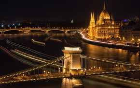 Picture night, the city, Budapest