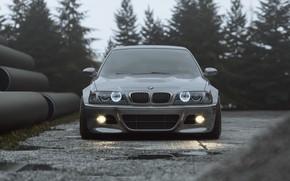 Picture Auto, BMW, Machine, Grey, Car, Render, Silver, E46, BMW M3, BMW M3 E46, Transport & …
