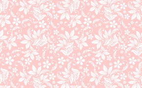 Picture texture, pink background, floral ornament, seamless