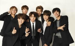 Picture guys, costumes, Korea, BTS, Korean group, BTS, boyband, Changuk, Min Jung, Kim Tae Hyun, Chong …