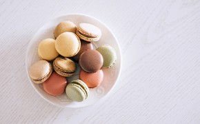 Picture cookies, cakes, Macaron
