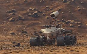 Picture the Rover, CGI, Thomas Wyszolmirski, XMars
