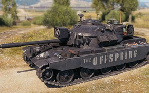 Picture tank, The Offspring, World of Tanks, TL-1 LPC, Pretty Fly