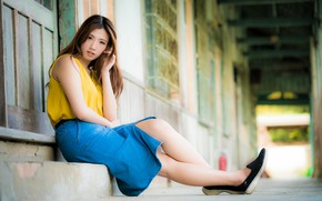 Picture girl, Asian, cutie