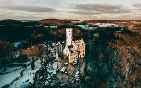 Picture castle, Germany, Baden-Wurttemberg, Traifelberg