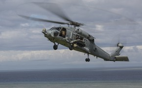 Picture Sea, Helicopter, US NAVY, MH-60R Seahawk