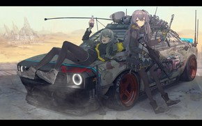 Picture girl, sexy, anime, beautiful, pretty, attractive, handsome, girls frontline, ump45, ump40