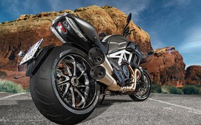 Picture Ducati, Carbon, Bike, Road, Diavel, Motorcycle