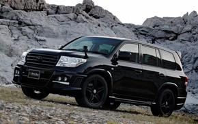 Picture Toyota, Toyota Land Cruiser 200, Vehicle, Black Bison, Modified, Black Bison Edition, Land Cruiser 200, …