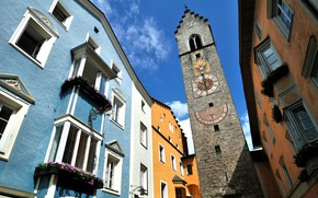 Picture tower, home, Italy, Vipiteno