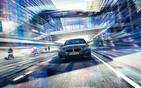 Picture BMW, 3-series, Front, Front view, 2019