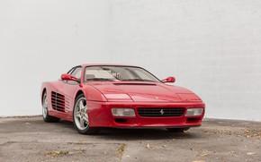Picture Red, Classic, Supercar, Ferrari Testarossa