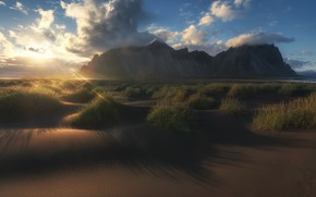 Picture the sky, nature, Mountain, Iceland, Michaluk Sergey
