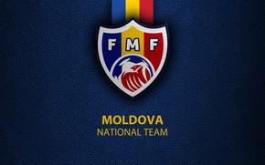 Picture wallpaper, sport, logo, football, Moldova, National team
