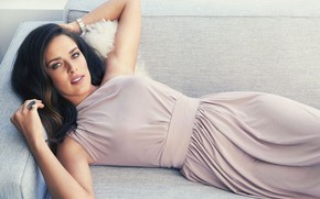 Picture look, girl, pose, dress, beautiful, Ana Ivanovic